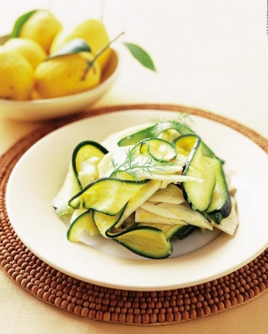 courgette fennel potato salad