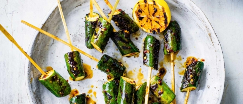 courgette lollipops skewers