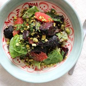 beetroot grapefruit salad