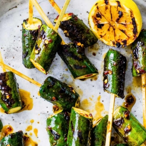courgette lollipop skewers recipe