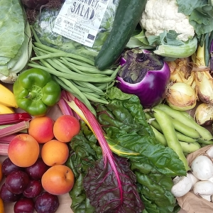 fruit and veg box contents