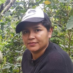 Fairtrade organic coffee grower Junieth