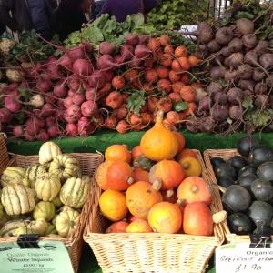 vegetables at farmers market
