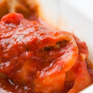stuffed cabbage leaves with tomato sauce recipe