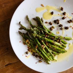 asparagus lemon dressing
