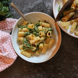 vegan mac n cheese wild garlic