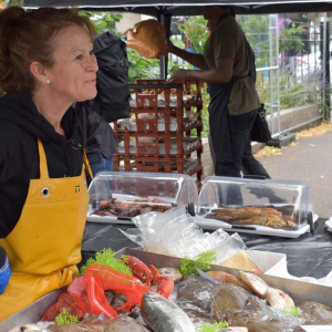 Yorworths fish stall