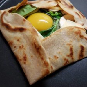 galettes du Sarrasin buckwheat pancakes