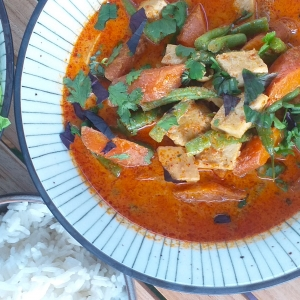 veggie panang curry