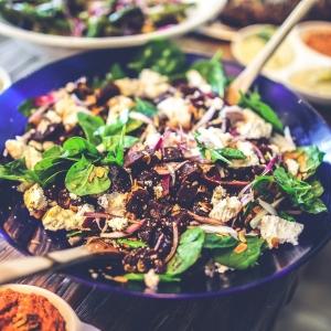 salad organic recipe