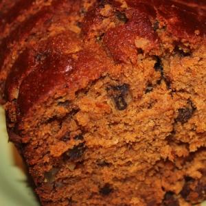 pumpkin tea loaf