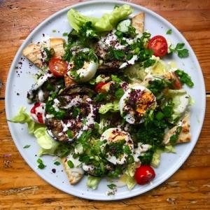 sabich salad