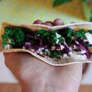 taco vegan Mexican feast